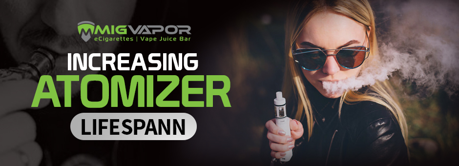 increasing atomizer lifespan