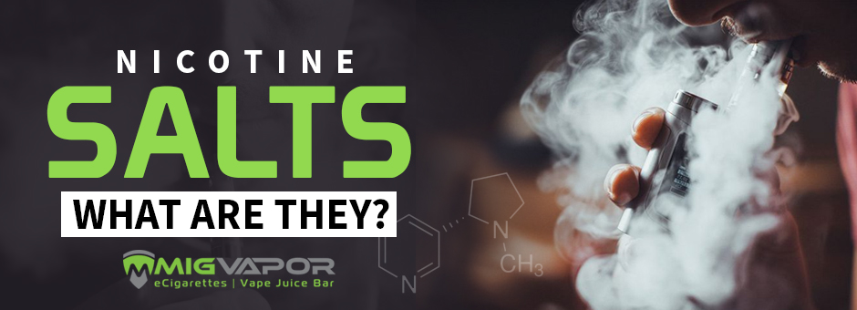 what are nicotine salts