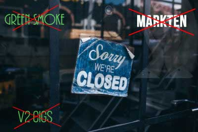 Altria Closing Green Smoke and Mark Ten  What Now? - Mig