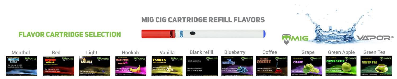 eCig Cartridges