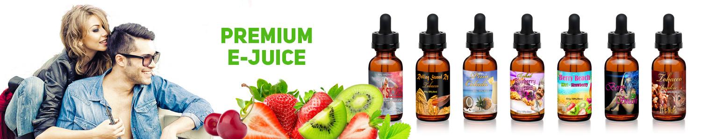 Premium Multi-Flavor E-Juice