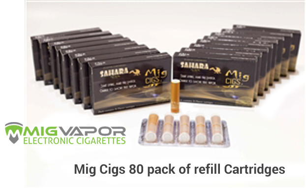 Mig Vapor® 80 Pack of Flavor Cartridges