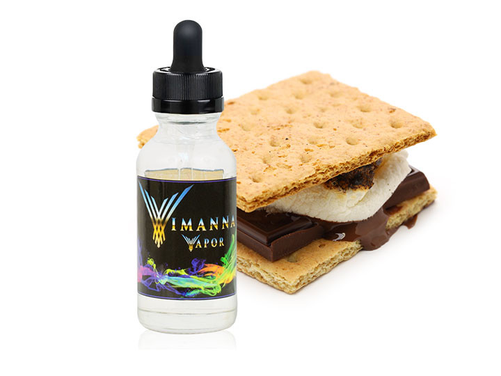 Vimanna Graham Cracker Crust E-Juice
