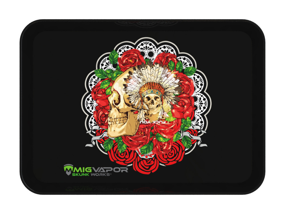 Mexican-day-of-the-dead-angry-skull-rolling-tray-mig-vapor