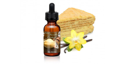 Premium Baked Vanilla Custard with Cream E-Juice
