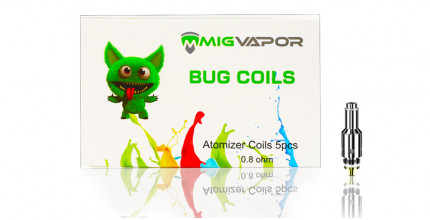 The-Bug-mini-mod-replacement-coils-Mig Vapor