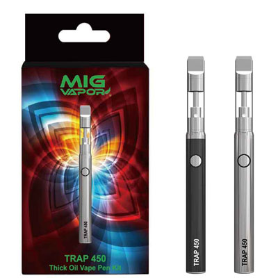The Trap 450 Micro Oil Vape Pen | Refillable-Reusable Thick